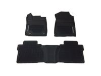 Toyota Tundra All-Weather Floor Liners - Black - D-Cab - PT908-34162-02