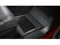 Toyota Tundra All-Weather Floor Liners-(201B)-Black-TRD PRO - PT908-34200-20