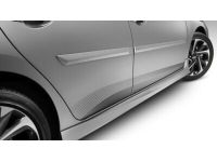 Scion iM Body Side Moldings-(209)  Black Sand Pearl - PT938-52120-02