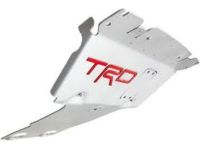 Toyota Sequoia TRD Front Skid Plate-With Red Inlay - PTR60-34190
