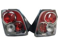 Scion Taillight Garnish, Rear Tail Lights by TYC - PTS25-52040