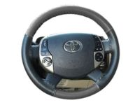 Scion xA Steering Wheel, Wheel Cover, Gray - PTS28-52040-01
