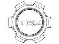 Toyota 4Runner TRD Center Cap - PTR20-35111-BK