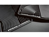 Toyota Highlander All-Weather Floor Mats - PT908-48H0W-02