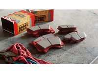 Toyota FJ Cruiser TRD Performance Brake Pads - PTR09-89110