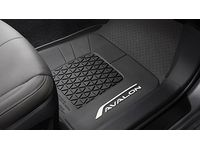 Toyota Avalon All Weather Floor Liners - Black - PT206-07190-01