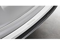 Toyota RAV4 Rear Bumper Applique - Clear with Logo - PT929-42180