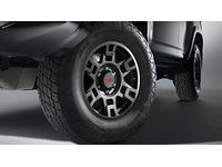 Toyota 4Runner TRD 17-In. Matte Black Alloy Wheel - PTR20-35110-BK