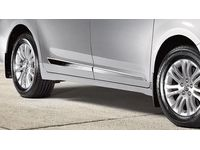 Toyota Sienna Lower Door Moldings-Bright Chrome. Body Side Moldings. - PT29A-08100