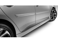 Scion Body Side Moldings-(1F7) Classic Silver Metallic - PT938-52120-01