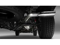Toyota Tacoma TRD Performance Exhaust System with Chrome Tip-Long Beds - PTR03-35162