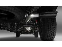 Toyota Tacoma TRD Performance Exhaust System w/ Black Chrome Exhaust Tip - PTR03-35190
