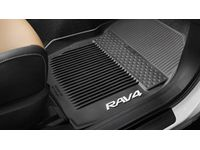 Toyota All Weather Floor Liners - Black - PT908-42165-20
