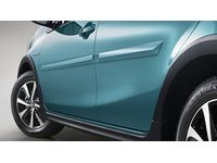Scion iM Body Side Moldings - (209) Black Sand Pearl - PT938-52120-02