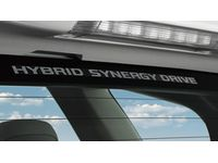 Toyota PT747-00072 Hybrid Synergy Drive® Window Graphic