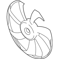 Scion Fan Blade - 16361-WB001