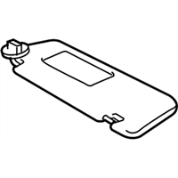 TOYOTA Genuine 74232-02670-B0 Armrest Base Panel