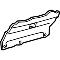 Toyota 67153-12080 Door Panel Reinforcement
