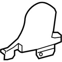 Genuine Hyundai 88160-2H160-TBS Seat Cushion Covering Front
