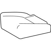 TOYOTA Genuine 71071-0R070-A2 Seat Cushion Cover