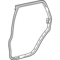 TOYOTA Genuine 71018-33120 Seat Back Frame