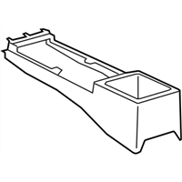 Genuine Hyundai 84680-3N800-RY Center Console Extension Cover