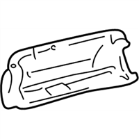 Toyota Genuine 55550-AE010-B0 Glove Box Door Assembly