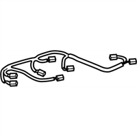 Toyota 82168-07140 WIRE, SEAT