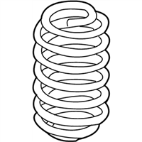 Toyota C-HR Coil Springs - 48231-F4040
