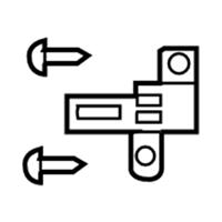 Toyota 81197-52020 Headlamp Bracket