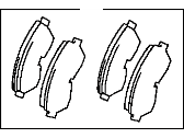 Toyota Avalon Brake Pad Set - 04465-33060