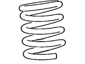 Toyota MR2 Coil Springs - 48131-17280