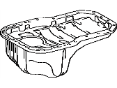 Toyota Celica Oil Pan - 12101-74050
