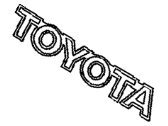 Toyota MR2 Emblem - 75441-17080-22