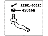 Scion Tie Rod End - 45047-49025