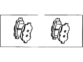 Scion Brake Pad Set - 04465-21030