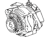 Toyota Echo Alternator - 27060-21031