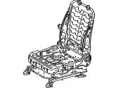 TOYOTA Genuine 71071-3G431-B0 Seat Cushion Cover