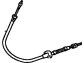 Toyota Highlander Parking Brake Cable - 46410-48020