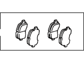 Toyota Avalon Brake Pad Set - 04465-33120