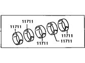 Genuine Toyota 13041-66020-02 Connecting Rod Bearing