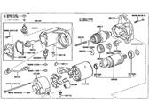 Toyota 28130-66060 Starter Commutator End Frame Assembly
