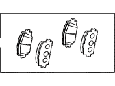 Toyota RAV4 Brake Pad Set - 04465-42180