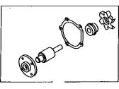 Genuine Toyota Parts Water 04161-10020 Pump Kit