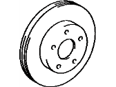Toyota Previa Brake Disc - 43512-28070