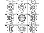 Toyota 42611-35520 WHEEL, DISC