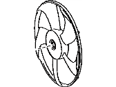 Scion Fan Blade - 16361-40080