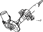 Toyota Yaris Steering Column - 45250-52764