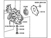 Toyota Sienna Oil Pump - 15100-0A020