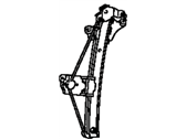 Toyota Avalon Window Regulator - 69802-AC010